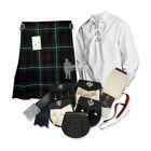 PARTY KIT KILT OUTFIT - MACKENZIE - SIZE & UPGRADE OPTIONS !