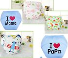 Cute cartoon 100% Baby Potty Training Pants Reusable Toddler Pee Underwear UP 3T