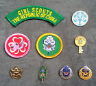 China Taiwan Girl Guide/ Scout / Brownie Membership /Friendship Patches/ Badges