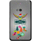 Merry Christmas Christmas Decorations Hard Case For Nokia Lumia 625