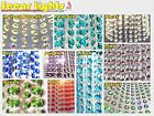 CHANDELIER DROPLETS BEAD CHIC CRYSTALS DECO DROPS WEDDING 1M GARLAND DECORATIONS