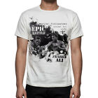 Boxing T Shirt Jersey The Epic Battle Cassius Clay Muhammad Ali Joe Frazier M1