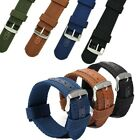 20/22/24mm Mens  Army Military Nylon Fabric Canvas Wrist Watch Band Strap Belt  image