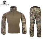 EMERSON Gen2 Combat Uniform Tactical Cype Style Hunting Airsoft BDU MAD Camo