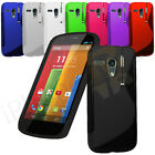 S Line Wave Gel Silicone Case Cover For Motorola Moto G 1st Gen