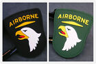 US ARMY USA AIRBORNE DIVISION 3D TACTICAL MORALE AIRSOFT PVC RUBBER VELCRO PATCH