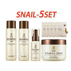 Secret Key Snail Repairing 5 set mask pack Moisture Skin Care Korean Cosmetics