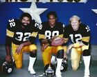 Football Pittsburgh Steelers Franco Harris Lynn Swann Terry Bradshaw Photo