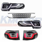 LED Halo Headlight (with Grille and tail light) For Toyota FJ Cruiser 2007-2015