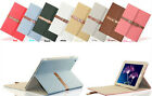 Briefcase Leather Cingulate Smart Stand Case Cover for iPad 2 3 4 5 6 Mini Air