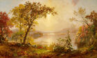 Oil painting Greenwood Lake Autumn on the Hudson Jasper Francis Cropsey canvas