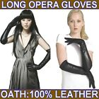 55cm(21.60 inches) Women's Leather Long Evening Gloves / Opera Party Gloves