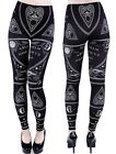 Ouija Leggings Witchboard Magic Alchemy occult Board Gothic Hose okkult