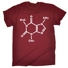 Caffeine Genetic Chemical Structure T-SHIRT Science Coffee birthday fashion gift