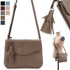WOMEN'S HANDBAG HOBO FLAP TOPZIP SHOULDER CROSS BAG PURSE REAL COWHIDE LEATHER