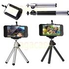 Universal Cell Phone Tripod Stand + Mount iPhone 5 6 6S Plus GALAXY S3 S4 S5 S6