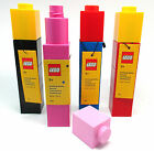 NEW LEGO LUNCH DRINKS BOTTLE 4 DIFFERENT COLOURS LEGO BRICK SCHOOL OFFICE