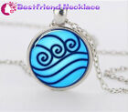 Avatar the Last Airbender, Legend of Korra Water Tribe Glass Necklace#T13