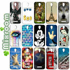 CASE COVER SOFT IN TPU FOR VODAFONE SMART 4 POWER FANTASIES AND DESIGNS TO