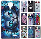 Cute Painted Plastic Hard PC Case Phone Back Cover Skin Shell For Lenovo A536