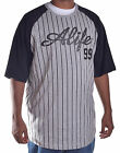 Alife Men's Baseball Stripe Season Tee Shirt XL