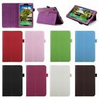 Folio Premium PU Leather Case Standing Cover for Amazon Kindle Fire 7 8 10 2015