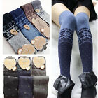 1X Trendy New Girls Overknee Stockings Tights Warm Winter Socks One Size For All