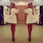 Sexy Womens Bodycon Long Sleeve Clubwear Cocktail Evening Party Short Mini Dress