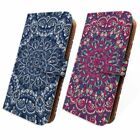 Tribal Mandala pu Leather Flip Case for Samsung Galaxy S4/S5/S6/S7/Edge/Plus