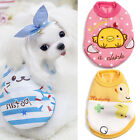 Cat Small Dog Puppy Vest T-Shirt Coat Pet Clothes Summer Apparel Costumes