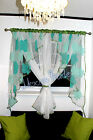 White Voile Net Curtain  Ready Made Bedroom Living Room New