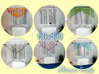 SALE!!!   White Voile Net Curtain Ready Made Bedroom Living Room New