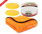 Collinite Double Coat 476s Carnauba Auto Wachs +2 Pads + Microfasertuch Auswahl