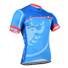 Men's Short Sleeve Cycling Jersey Bib Shorts Pad Pockets Kits Bike Racing Shirt