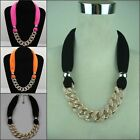 New Fashion Women Lady Necklace Pendant Jewelry Scarf (3 colour )