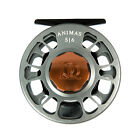 NEW ROSS ANIMAS 11/12 FLY REEL GRANITE GREY USA MADE IN STOCK FREE $60 FLY LINE