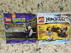 Lego Minifigure Sets-(3) Western Emmet/Ninjago/Teenage Mutant Nija Turtles