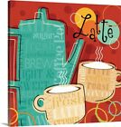 funky canvas art - Premium Thick-Wrap Canvas Wall Art entitled Funky Brew III