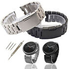 Stainless Steel Watch Band Strap Link For 1st Gen Motorola Moto 360 Smart Watch image