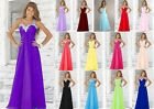 New Formal Long Evening Ball Gown Party Prom Bridesmaid Dress Stock Size: 6-18