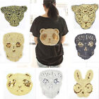 2 Pcs Sew On Embroidered AppliqueS Animals Embellishment Patch work Crafts