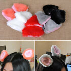 Fur Cat Neko Orecchiette Fox Ear Costume Anime Hair Clip Hairpin Party Halloween