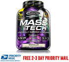 MuscleTech MASS TECH Advanced Muscle Mass Gainer Protein 7 lbs All Flavors