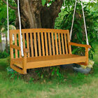 Acacia 2-Seater Swing with Curved Back
