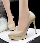Fashion Womens Office Ladies Pumps High Heels Classical Stilettos Party Shoes