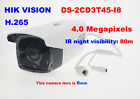 Hikvision DS-2CD3T45-I8 4MP IP IR CCTV Video Network security IP66 (6mm) camera