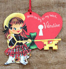 Hang Tags  RETRO KEY TO MY HEART VALENTINE TAGS #328  Gift Tags