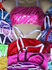 #2 COLOUR SELECTION GIRLS STRAP or TANK CROP TOP Leotard gymnastics dance