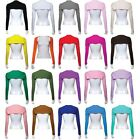 Ramadan Women One Piece Sleeves Arm Cover Shrug Bolero Hijab Muslim 20 Colors