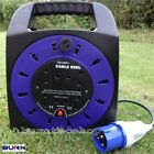 Caravan Camping Electric Mains Hook Up Reel EHU 15 20 25 Metre Extension